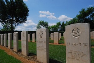 Indian Graves, Commonwealth Cemetery, Monte Cassino