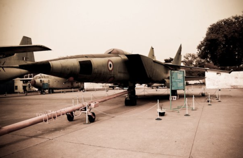 Indian Air Force MiG-25, IAF Museum, New Delhi