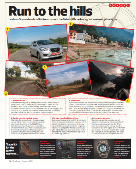 Datsun Go+ drive to Rishikesh - Stuff India Magazine