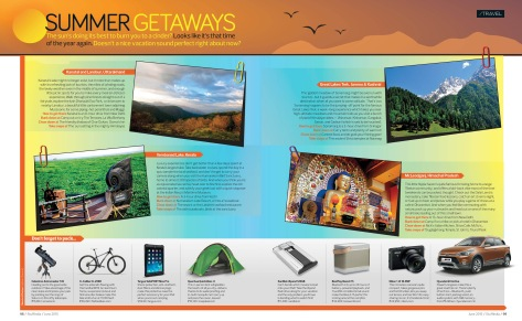 Summer Getaways 0 Stuff India Magazine - June 2015