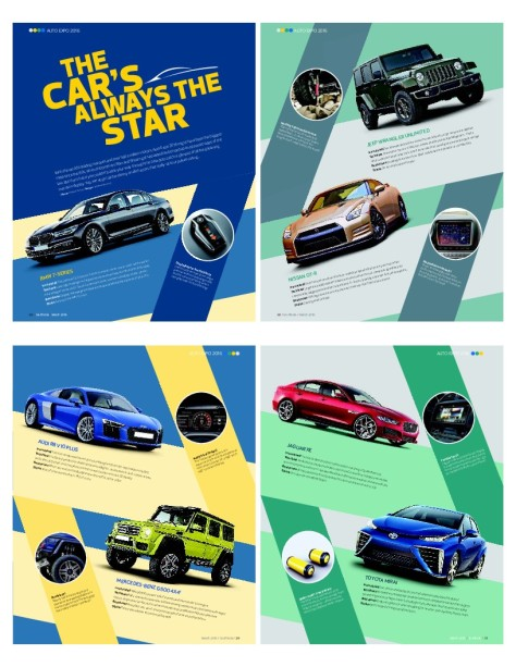 The car's always the star - Stuff India March 2016